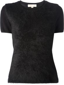 Michael by Michael Kors Short Sleeve Sweater - Lyst