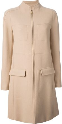 See By Chloé Zip Fastening Coat - Lyst