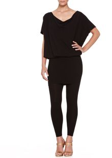 Donna Karan New York Convertible Jersey Tunic Dress - Lyst