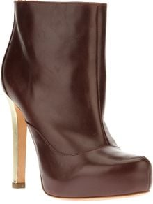 Pollini Stiletto Ankle Boot - Lyst