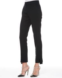 RED Valentino Tech Cady Bow Ankle Pants - Lyst