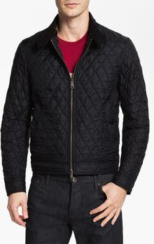 Burberry Brit Quilted Bomber Jacket - Lyst