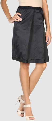 Elsa Esturgie Knee Length Skirt - Lyst