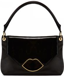 Lulu Guinness Black Smooth Patent Leather Small Nicola Black Smooth Patent Leather Small Nicola - Lyst