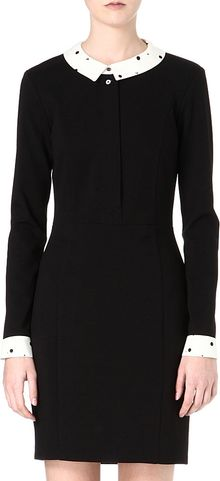 Paul By Paul Smith Contrast Collar Dress - Lyst