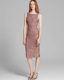 Alice + Olivia Alice Olivia Dress Kimber Embellished Fitted - Lyst
