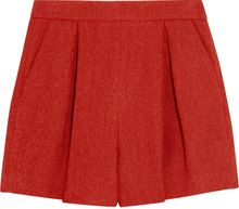 Giambattista Valli Pleated Woven Shorts - Lyst
