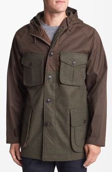 Pendleton Meriwether Waxed Cotton And Wool Parka - Lyst