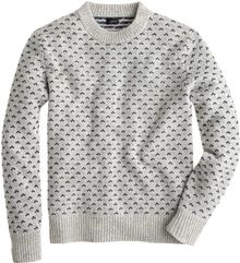 J.Crew Nordic Dot Sweater - Lyst