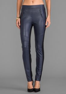 BCBGMAXAZRIA Kalin Pants in Navy - Lyst