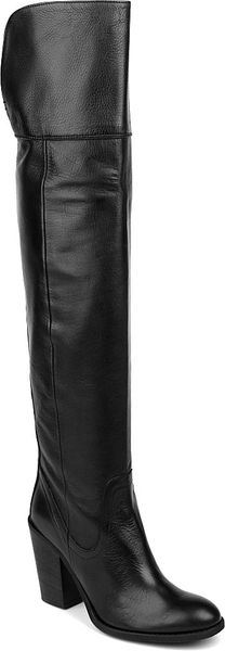 Carvela Wink Leather Overtheknee Boots - Lyst