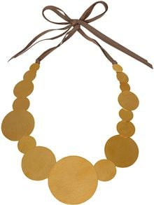 Herve Van Der Straeten Goldplated Pailettes Necklace - Lyst