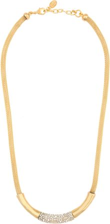 Kara Ross Scale Tube Necklace - Lyst