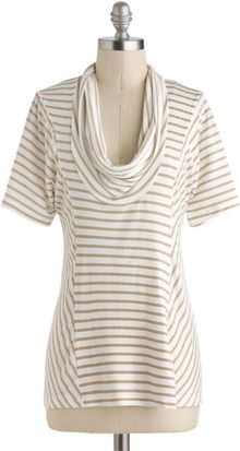 ModCloth Overnight Travel Top in White Pepper - Lyst