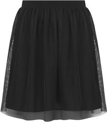 Topshop Tulle Mini Skirt - Lyst