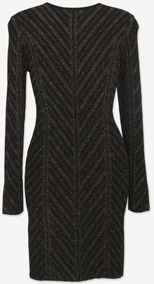 Torn By Ronny Kobo Metallic Pointelle Knit Dress - Lyst