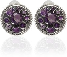 Stephen Dweck Silver Amethyst Clipon Earrings - Lyst