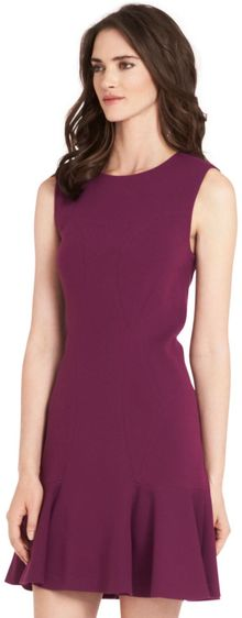 Diane Von Furstenberg Jaelyn Sleeveless Flared Knit Dress - Lyst