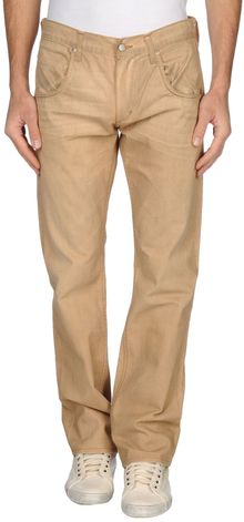 Wrangler Denim Trousers - Lyst