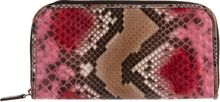 Zagliani Python Animalier Zip Around Wallet - Lyst