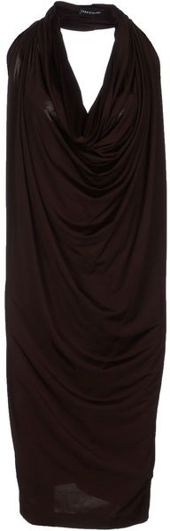 Fabrizio Lenzi Kneelength Dress - Lyst