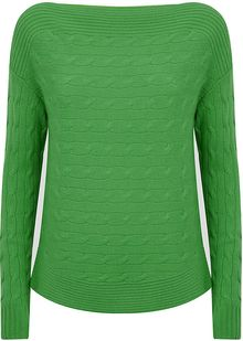 Ralph Lauren Black Label Cashmere Boat Neck Sweater - Lyst