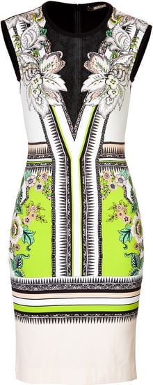 Roberto Cavalli Knitted Dress - Lyst