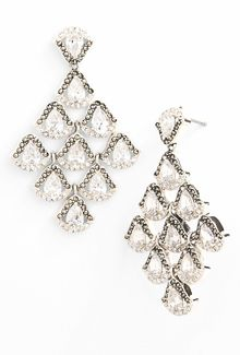 Judith Jack Party Ears Chandelier Earrings - Lyst
