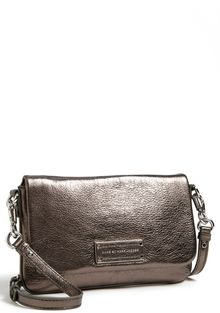 Marc By Marc Jacobs Too Hot To Handle Percy Metallic Leather Crossbody Bag - Lyst