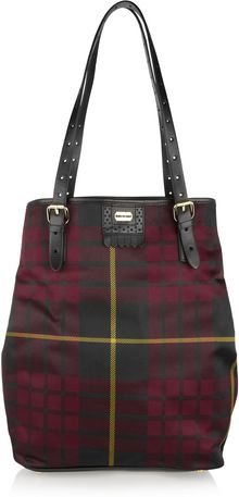 McQ by Alexander McQueen North South Tartan Tote - Lyst