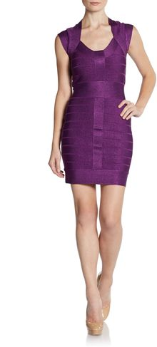 French Connection Spotlight Bandage Dress - Lyst
