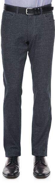 Theory Haydin Enzyme Pants Dark Gray - Lyst
