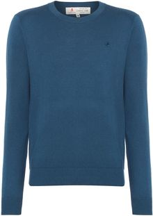 Label Lab Mccaught Essential Wool Mix Crew Neck Jumper - Lyst