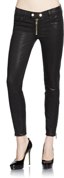 Textile Elizabeth And James Cooper Coated Skinny Jeans - Lyst