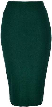 Topshop Knee-length Tube Skirt - Lyst