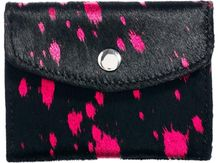Asos Leather Coin Purse with Pony Paint Splatter - Lyst