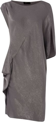Label Lab Drape Cocoon Dress - Lyst