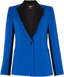 DKNY Colour Blocked Peak Lapel Jacket - Lyst