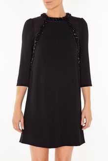 Marc By Marc Jacobs Kisa Embroidery Silk Dress - Lyst