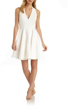 Rachel Zoe Carolina Faux Wrap Dress - Lyst