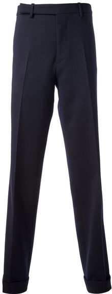 Raf Simons Wide Legged Pants - Lyst