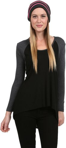 Saint Grace Alexi Raglan Top - Lyst
