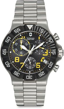 Victorinox Summit Xlt Chronograph Stainless Steel Watch - Lyst