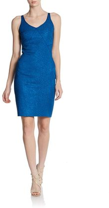 Zac Posen Printed Sleeveless Mini Dress - Lyst