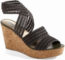 LK Bennett Eimear Crocheted Wedge Sandal - Lyst