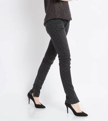 Maje Downtown Quilted Jeans - Lyst