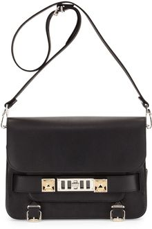 Proenza Schouler Ps11 Calfskin Classic Shoulder Bag Black - Lyst