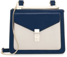 Zara Messenger Bag with Metallic Fastener - Lyst