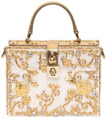 Dolce & Gabbana Mother Of Pearl Top Handle - Lyst
