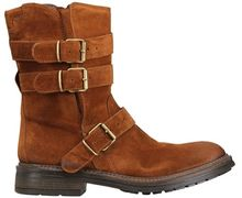 Fruit 20mm Multi Buckled Suede Biker Boots - Lyst